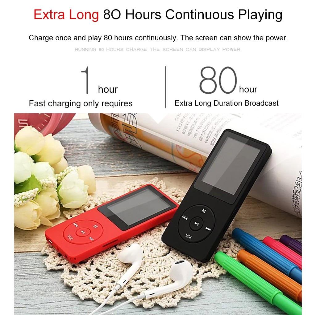 Мини Воспроизведение Mp3 аудио без потерь Музыкальный плеер Fm рекордер Tf карта 80 часов MP3 плеер с наушниками|MP3-плееры|   | АлиЭкспресс