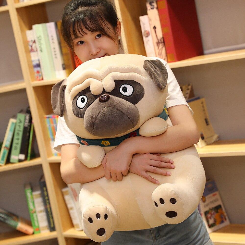 1 шт. 25 55 см Милая имитация Шарпей, плюшевые игрушки для собак, милая Сидящая собака, куклы, мягкая подушка для детей, диванная подушка, подарок|Мягкие игрушки животные|   | АлиЭкспресс