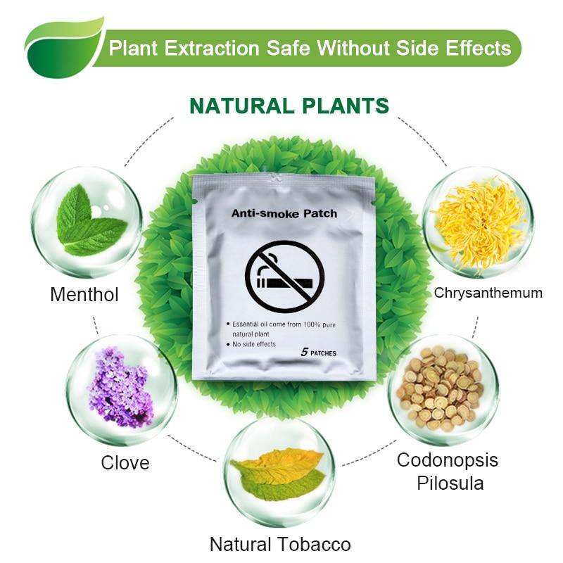 30pcs 100% Natural Ingredient Anti Smoke Patch Stop Quit Smoking Cessation Chinese Herbal Medical Plaster Health Care D2051 1
