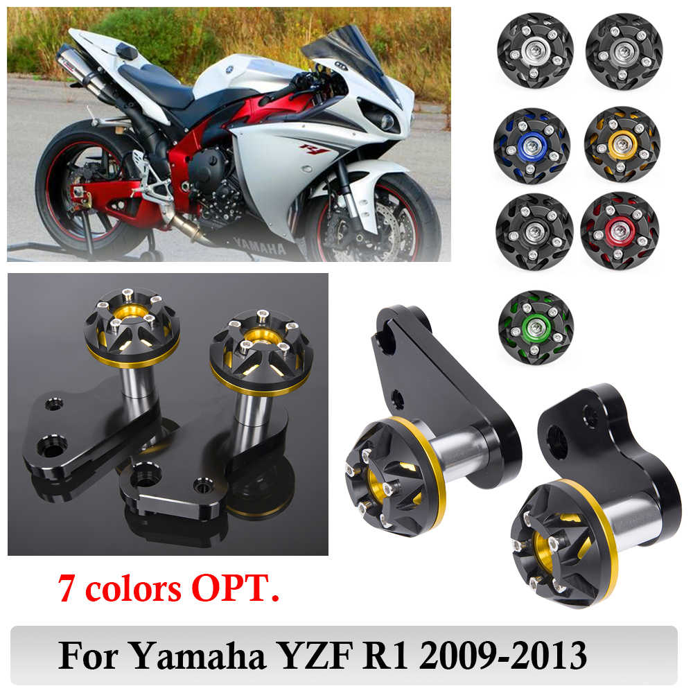 Carbon Frame Sliders Crash Protectors For Yamaha YZF R1 2009-2014 2012 2013