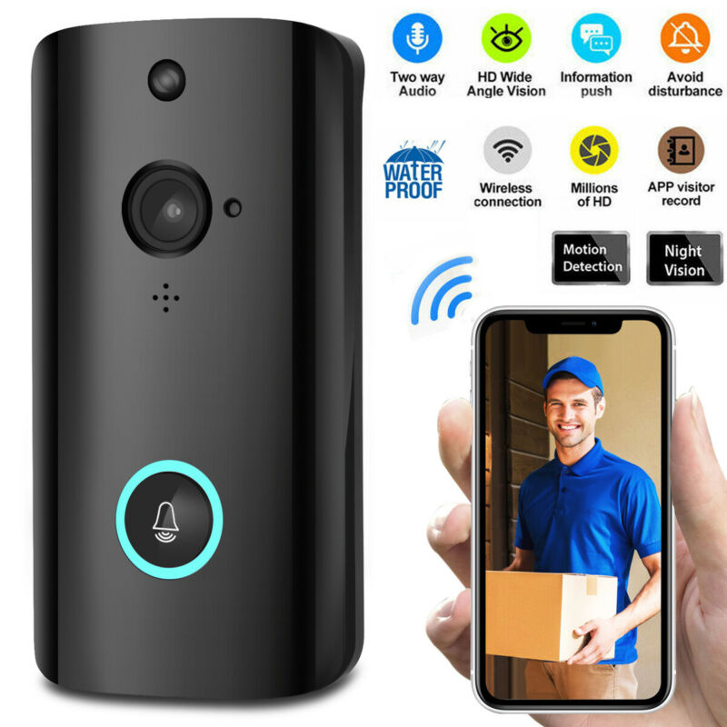 2019 New Arrival Smart WIFI Security Doorbell Wireless Video Phone Camera Night Vision M9