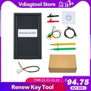 Image 1 - Ferramenta de programação de chave vdiagtool, ferramenta de chave de 2019 mk3 com chave de transponder e chave completa com chave remota de desbloqueio