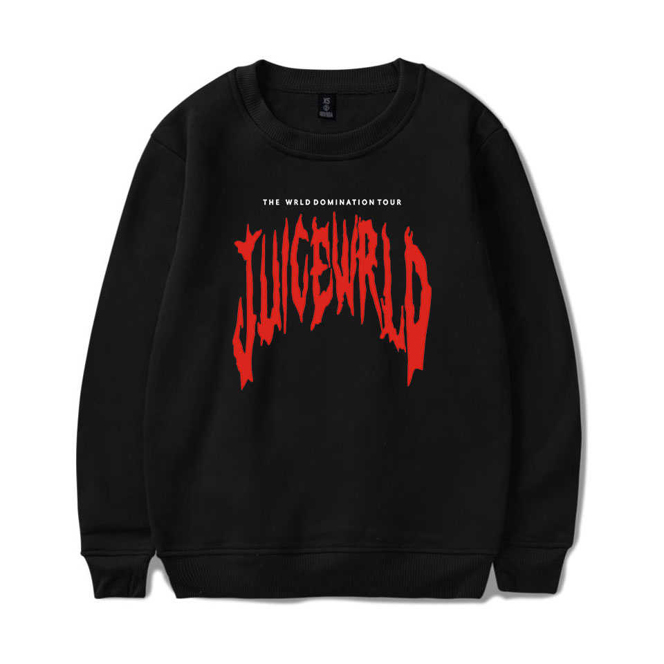 "Rapper Sap WRLD Emo val Lied ""Lucid Dreams"" Hip hop print Sweater Harajuku Ronde Kraag Unisex Mannen/ vrouwen Sweatshirt"