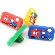 1x Environmental Soft Rubber Cartoon Children Room Cabinet Knob Pull Handle Drawer Cupboard Door Wardrobe knobs