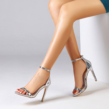Summer Shoes Women 2020 Sandals peep toe high heels ankle st