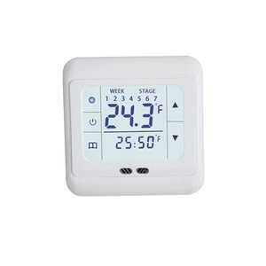 Thermoregulator  Screen Heating Thermostat for Warm Floor Electric Heating System Temperature Controller With Kid Lock