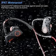 Bluetooth Kopfhörer Drahtlose Ohrhörer Wasserdicht Sport Headset Neckband Noise Cancelling Stereo Ohrhörer für xiaomi smart handys