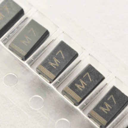 <font><b>1000pcs</b></font>/lot LL4007 M7 DO-214 <font><b>1N4007</b></font> IN4007 SMD 1.0A 1000V RECTIFIERS New Original In Stock image