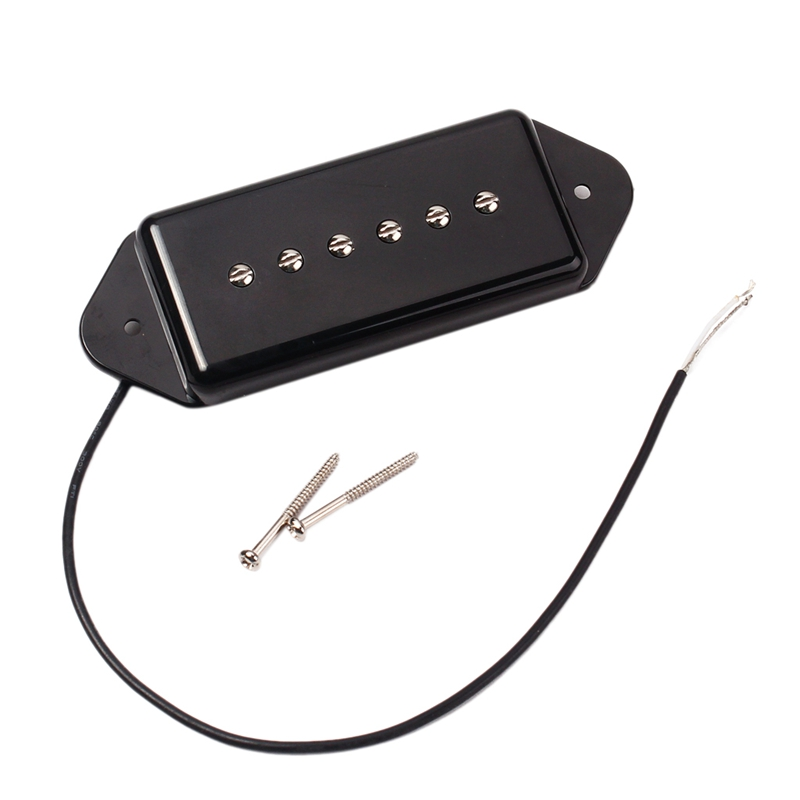Dog Ear Shape Pickup For P90 Electric Guitar Double Coil Copper Pickup Parts