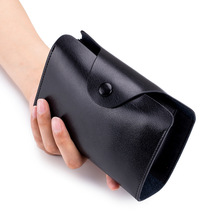Vintage Genuine Leather Card Wallet for Men and Women Cowhide Business Organ Card Holder Credit Card Coin Purse 24 Cards Pack