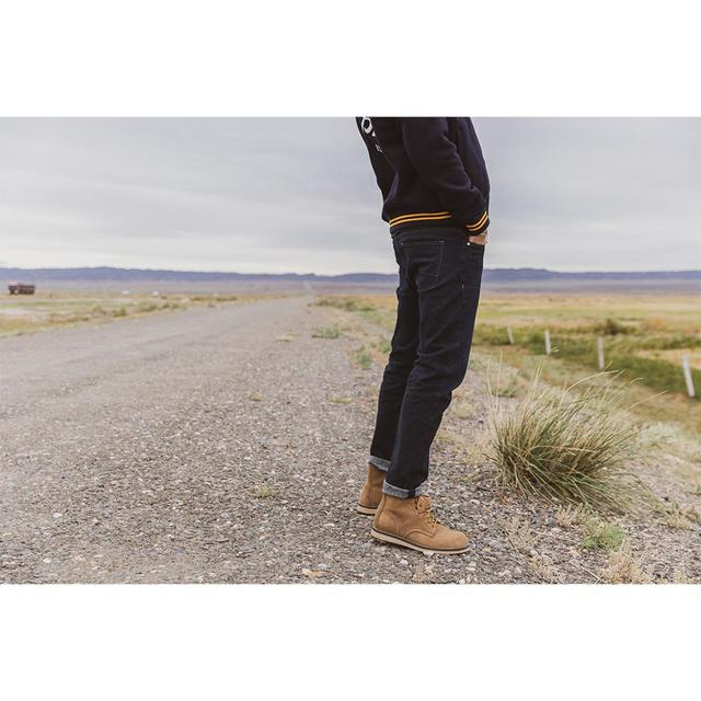 Winter slim fit jeans with fleece lining