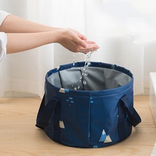 New Multifunctional packing organizer folding travel bag Water Bucket for clothes fruit wash  for Outdoor Travelling Camping