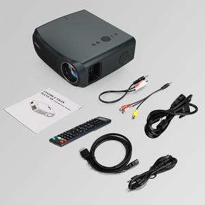 Image 5 - CAIWEI كامل HD العارض A12 1920x1080P أندرويد 6.0 (2G + 16G) واي فاي LED جهاز عرض صغير السينما المنزلية HDMI ثلاثية الأبعاد متعاطي المخدرات الفيديو ل 4K