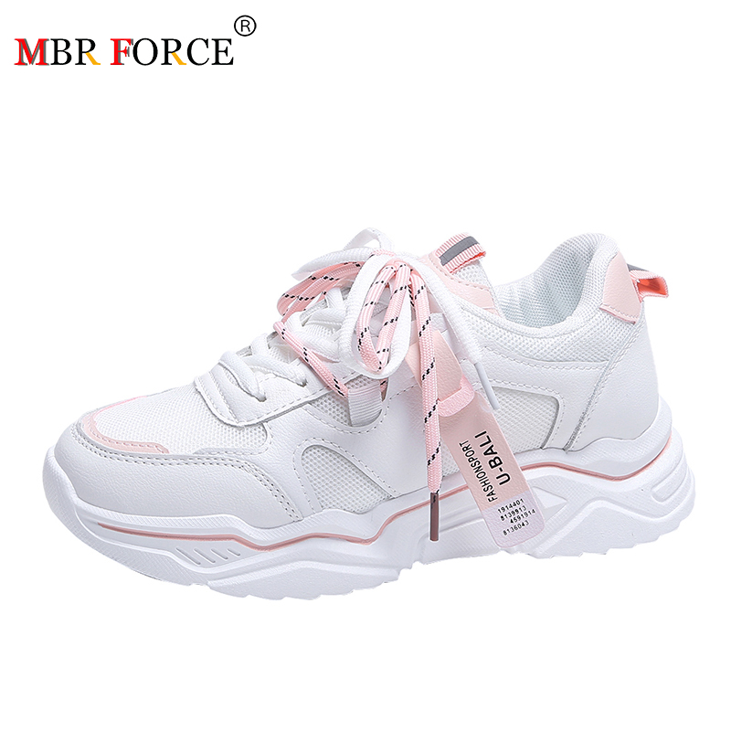 MBR FORCE 2020 Women Shoes Casual High Quality Comfortable Sneakers Cushioning Platform Breathable Filas Shoe Zapatos De Mujer