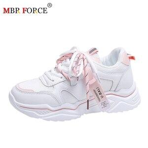 MBR FORCE 2020 zapatos de mujer informales de alta calidad, cómodas zapatillas con plataforma acolchada, sandalias transpirables, zapatos de mujer