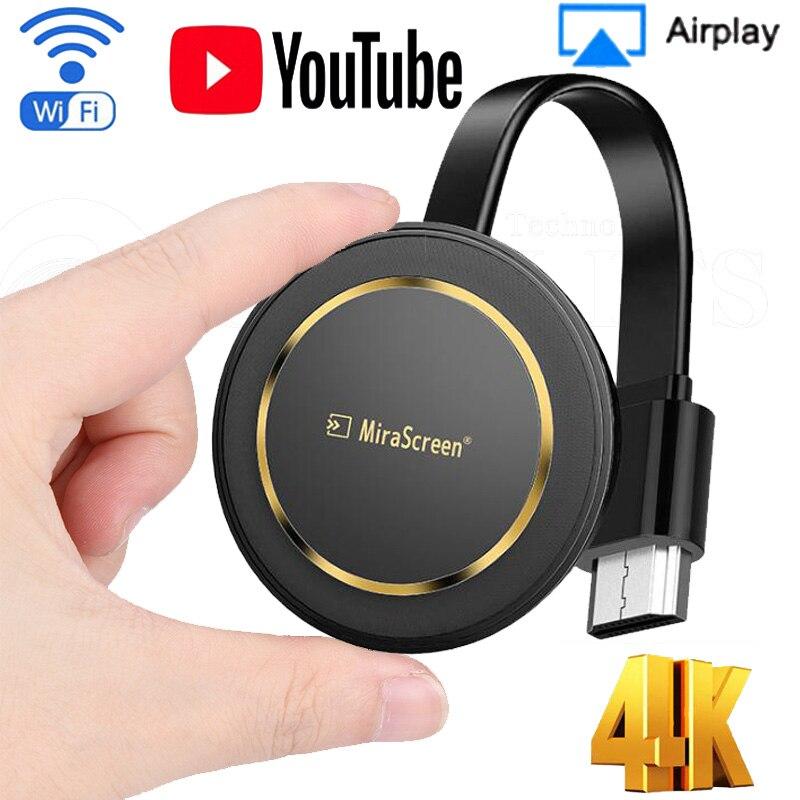 G14 TV Stick 5G projecteur d'écran sans fil 4K sans fil WiFi affichage Dongle Ezcast Airplay HDMI Google Chromecast cast pour youtube