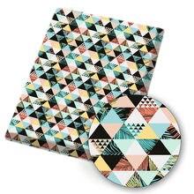 Tissu en coton et Polyester à imprimés de fleurs, 45x145cm, étoffe de dessin animé, pour bricolage, sac, couture