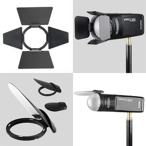 Image 4 - Godox V1 마그네틱 라운드 헤드 플래시 사진 교체 액세서리에 대 한 Godox AK R1H200R ad200에 대 한 AK R1 플래시 부품 세트 키트