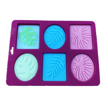 Soap-Moulds Craft Flowers Oval Handmade Bathroom Rectangle 6-Forms Silicone DIY 3D Kitchen