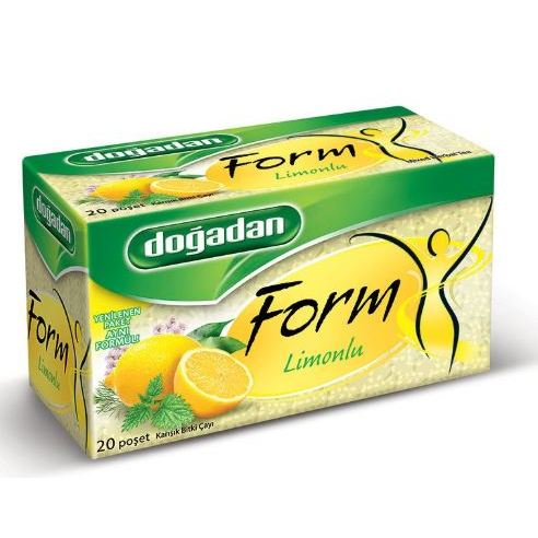 Nature Form Lemon Tea 20 Packs Of 4