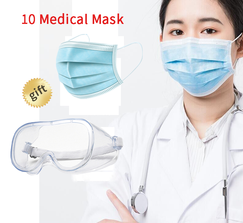 Wholesale Laboratory Safety Glasses Protection Dust-proof Anti-fog Protective Workplace Googles Mask Gift