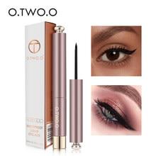 O.TWO.O Liquid Eyeliner Pencil Waterproof Black Eye Liner Pen Long Lasting Super Slim Eye Liner Pencil Quick Dry Eyes Makeup Kit
