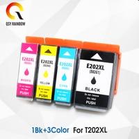 1BK+3CL Refill Ink Cartridge For EPSON T202XL 202XL 202 Expression Premium XP 6100 XP 6001 XP 6005 XP 6000 XP6100 XP6005 Printer