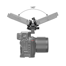 лучшая цена SmallRig Camera Quick Release Clamp Monitor Holder Swivel & Tilt Monitor Mount with Nato Clamp(Both Sides)  Light Weight 2385