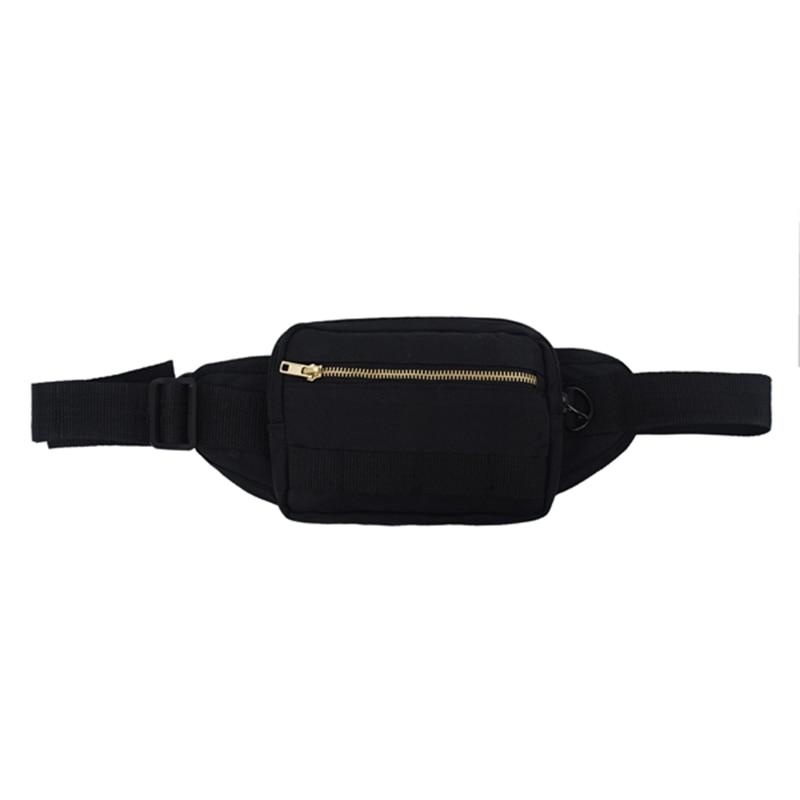 Outdoor Men Waist Bag Pack Travel Phone Belt Bag Pouch For Men Women Casual Shoulder Crossbody Canvas Bag For Belt Unisex Hip Ba