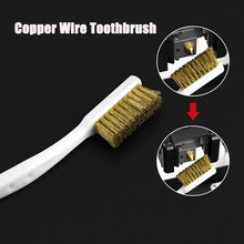 Printer-Cleaner-Tool Hot-Bed Hotend-Cleaning Nozzle-Block Toothbrush for Copper-Brush-Handle