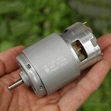 Motor dc 775/755 RS-775WC dc original mabuchi, torque grande velocidade RS-755VC 14.4 dc 12v v 18v 24v motor de broca elétrica