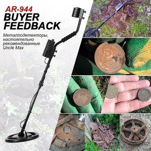 Image 2 - Underground Metal Detector Waterproof Depth1.5m/3m AR944M Scanner Finder Gold Digger Treasure Hunter 1200mA li Battery Search