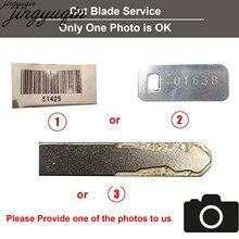 Jingyuqin taxa extra para honda corte chave lâmina serviço por favor entre em contato conosco antes da compra