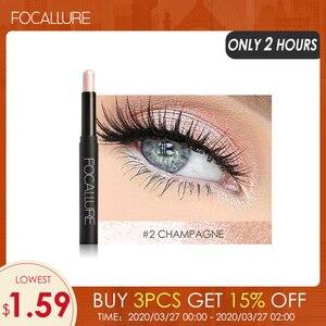 FOCALLURE 12 Colors Eyeshadow Sticker Cosmetics Eye Shadow Pencil Highlighter Shimmer Eyes Makeup Eye Shadow Eye Liner