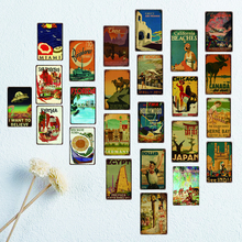 Cuba Retro Tin Sign Shabby Chic Metal Plates For Wall  Home Craft Cafe Music Bar Decoration Poster DU2423A