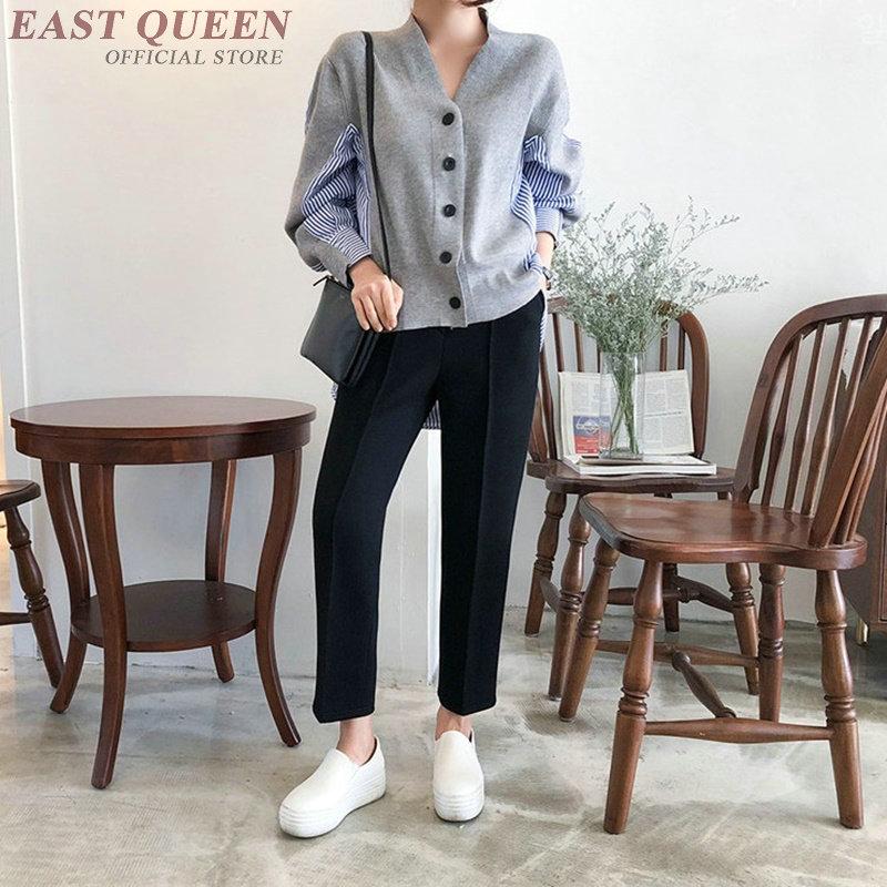 Koszule damskie 2019 Korean Fashion długa koszula tunika