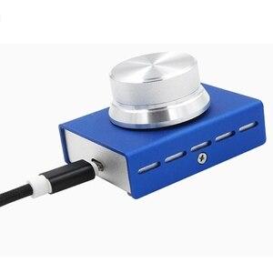 Image 2 - Usb التحكم في مستوى الصوت ، ضياع جهاز كمبيوتر شخصي المتكلم الصوت وحدة تحكم حجم المقبض ، ضبط التحكم الرقمي مع مفتاح واحد كتم وظيفة