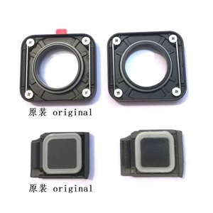 Image 2 - Original Accessories For GoPro Hero 7 6 5 4 Black Sports Camera Front Door/Faceplate/UV Filter Glass Lens/USB Cap Battery Cover