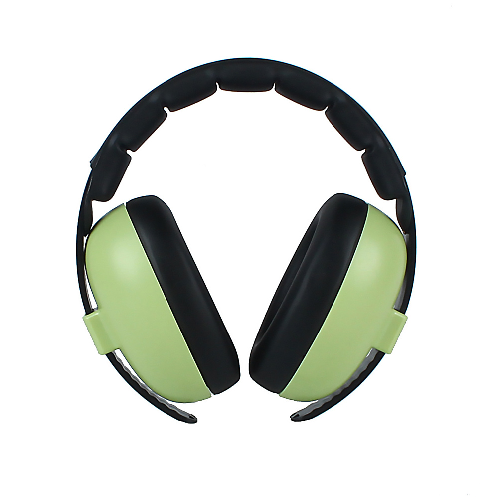 Baby Kids Wireless Headphone Boys Girls Noise Canceling Soft Earmuff Home Care Ear Protection Travel Adjustable Headband Padded