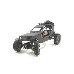 Dasmikro Das87 Das87A03 Ho 1/87 4X4 Chassis DIY Desert Truck Crawler Kit met 3D Gedrukt Lichaam en motor