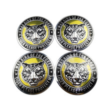 цена на Tire Center Hub Cap Decoration Metal Tiger Head Styling Emblem Car Wheel Stickers For Mazda Cx7 Cx6 Cx5 Cx3 Citroen C3 C4 C4l C5