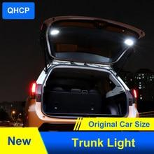 Qhcp luz tronco do carro led bagagem compartimento tronco carga lâmpada ampla área de alto brilho grande gama apto para subaru forester 2019