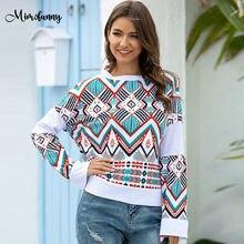 Mimofunny женские футболки с длинным рукавом весенние лоскутные
