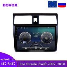 DOVOX 2 Din Android10 unidad para Suzuki Swift 2005 - 2010 navegación GPS Radio de coche reproductor Multimedia RDS Autoradio 2din dvd