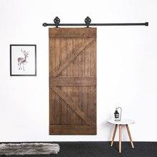 Para ruso Vintage Spoke Industrial rueda corrediza puerta de madera de Granero Puerta de armario Interior Puerta de cocina