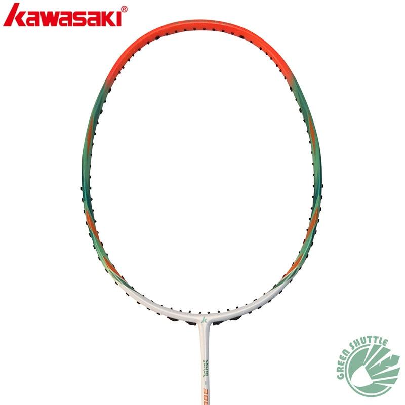 2020 New 100% Genuine Kawasaki Badminton Racket 30T Graphite Fiber All-round Ninja 388L 688L Single Racquet With Free Grip