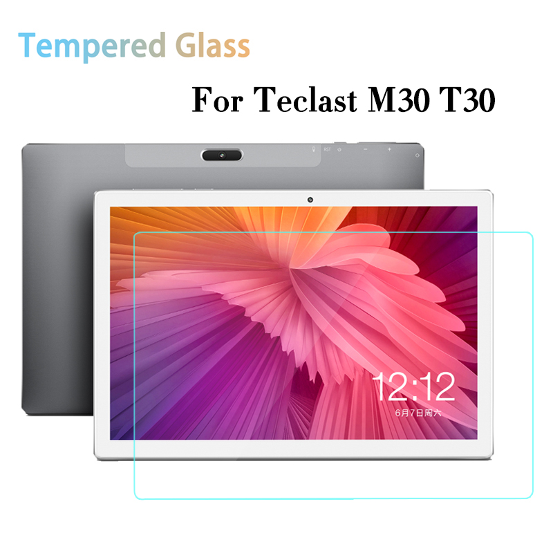 Tempered Glass Screen Protector For Teclast M30 T30 10.1'' Screen Protector Film For TeclasT30 10.1 Inch