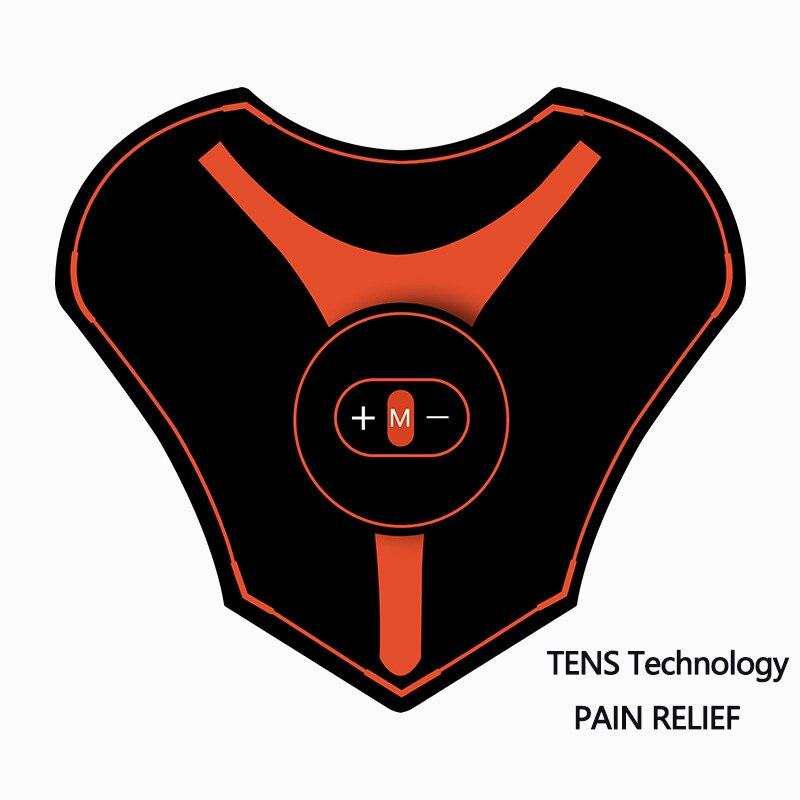 EMS Hals Schmerzen Relief Mini Elektrische Zurück Massager Muskel Stimulator Therapie Maschine ZEHN Einheit Elektronische Puls Schulter Trainer