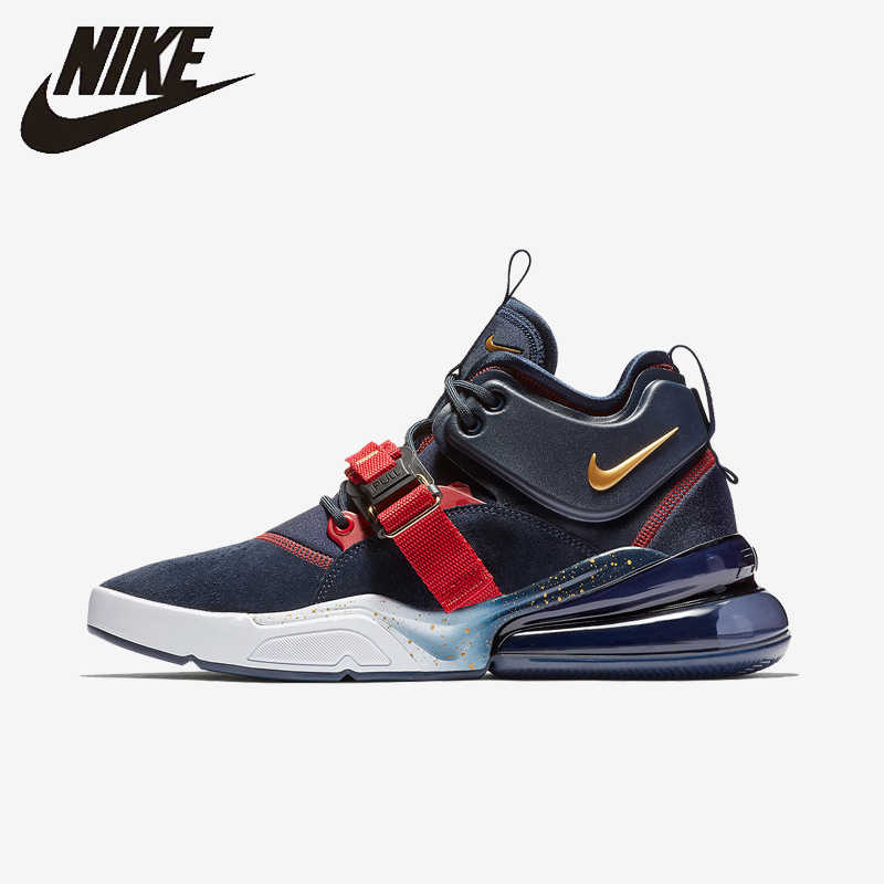 Nike Air Force 270 QS PRPL hommes chaussures de course Original respirant Sports de plein Air baskets # AQ1000/AH6772