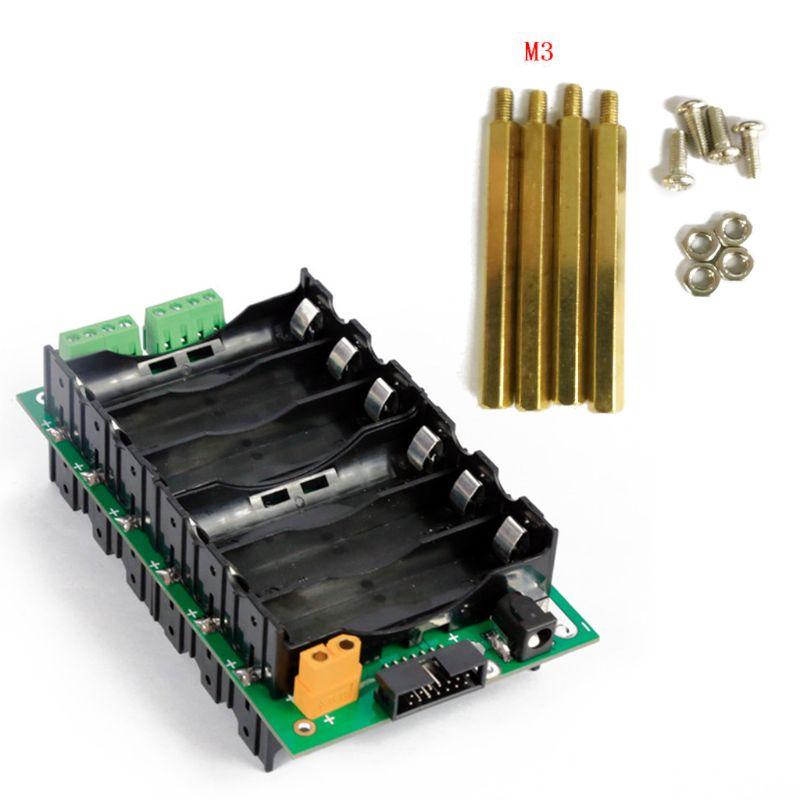 6S Power Wand 18650 Batterie Pack Halter Balancer PCB Schaltung Schutz Bord